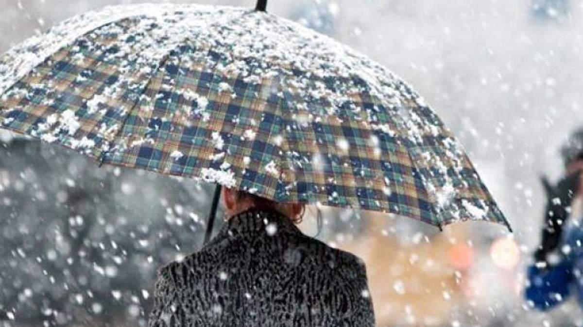 Гидрометцентр объявил о штормовом предупреждении в двух областях Украины