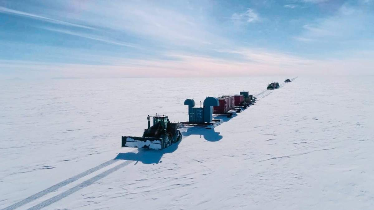 Вчені добралися до озера Мерсер