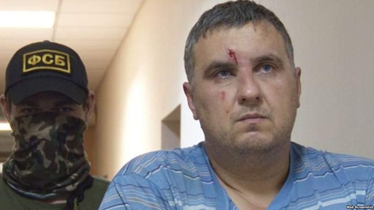 Украинский политзаключенный Евгений Панов