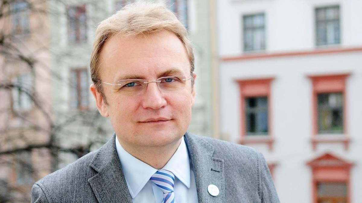 Кандидат в президенты Андрей Садовый подал документы в ЦИК