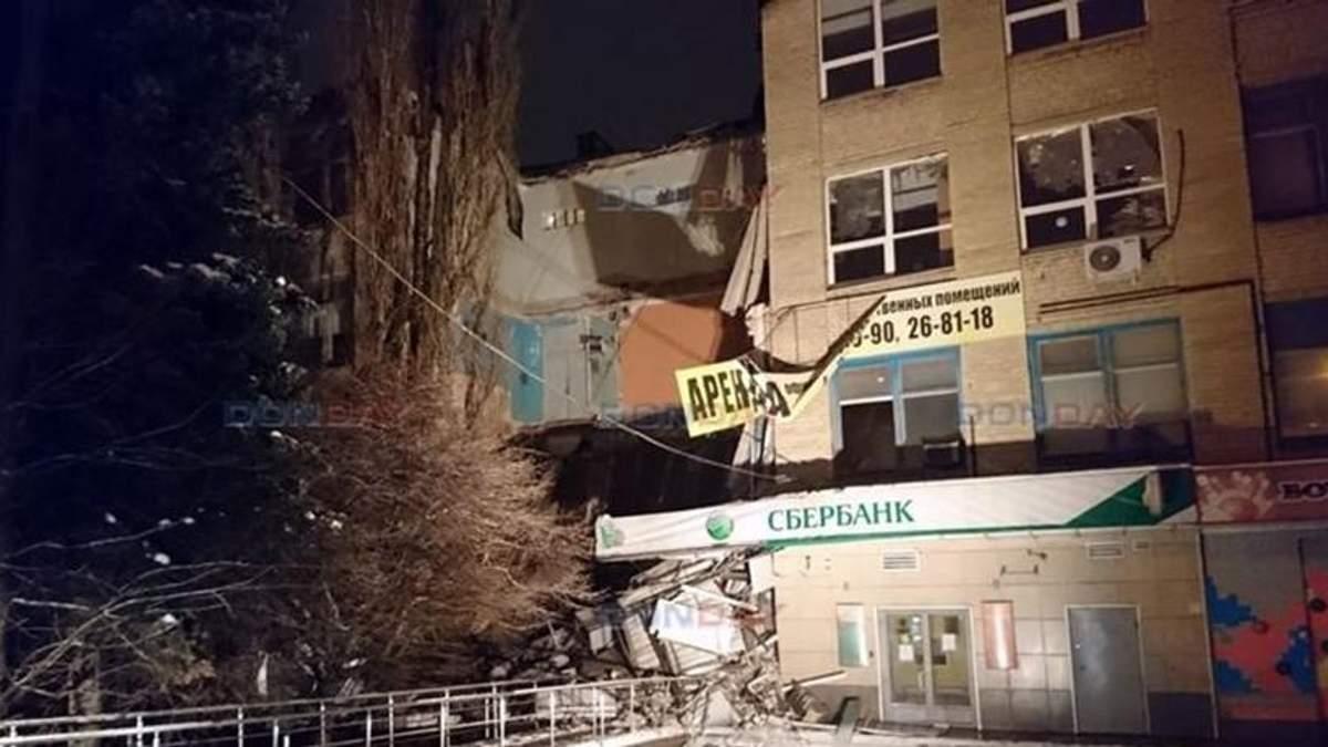 У російському Новочеркаську обвалилася стіна будинку