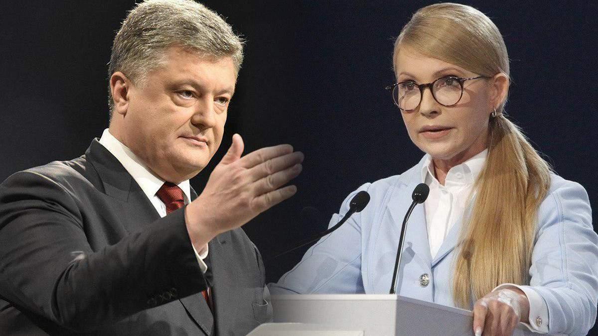 Чому Порошенко та Тимошенко поки не подають документи на реєстрацію в ЦВК
