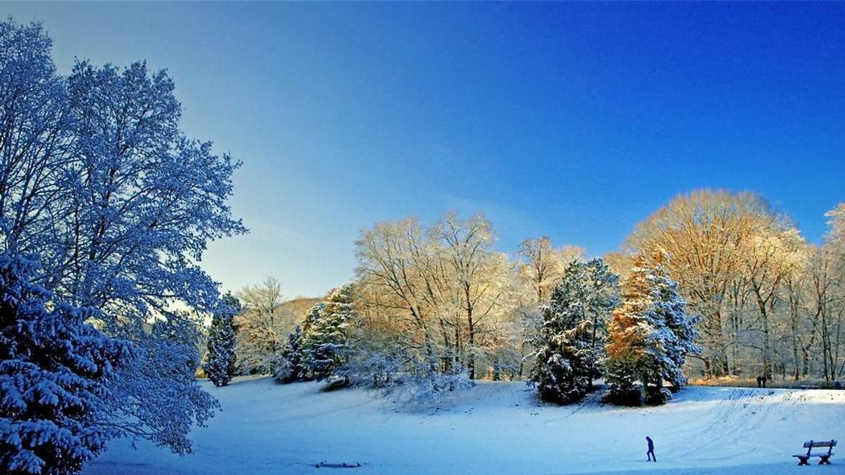 Прогноз погоди на 6 січня: переддень Різдва подарує сніг і мороз