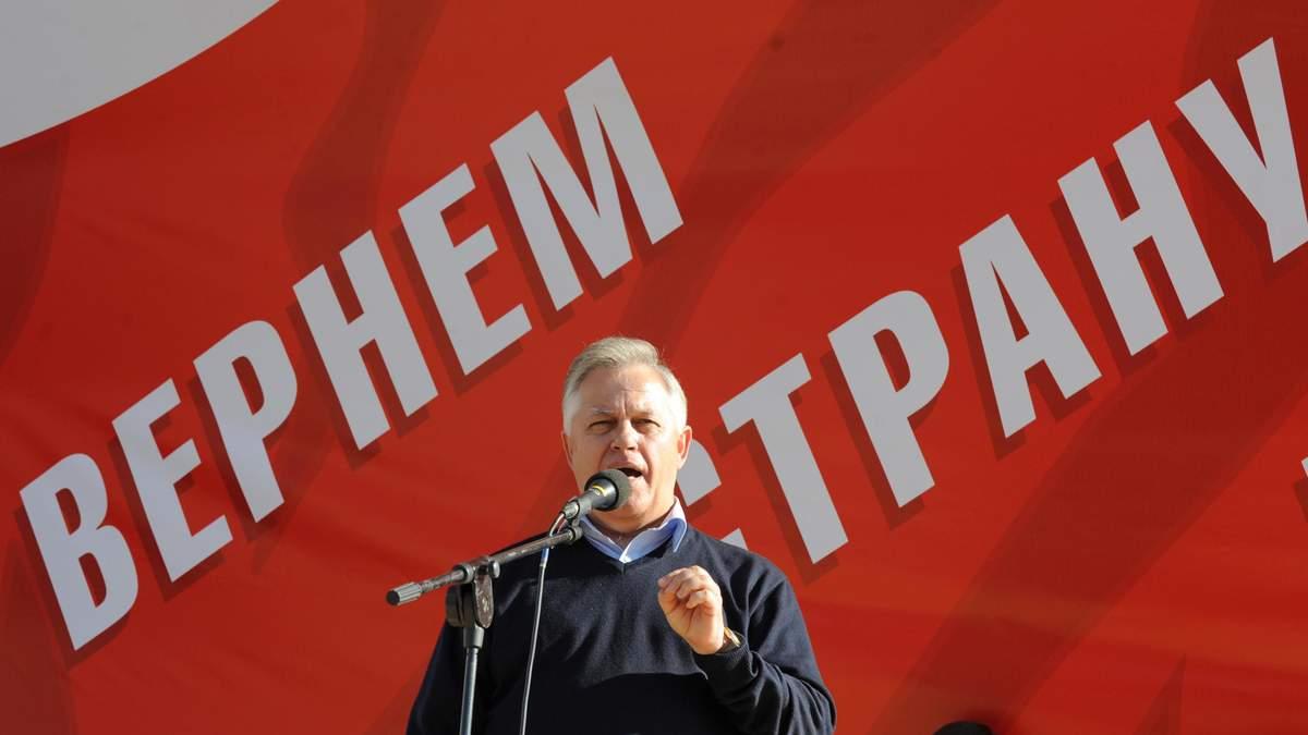 Симоненко может пойти на выборы президента только как самовыдвиженец, – КИУ