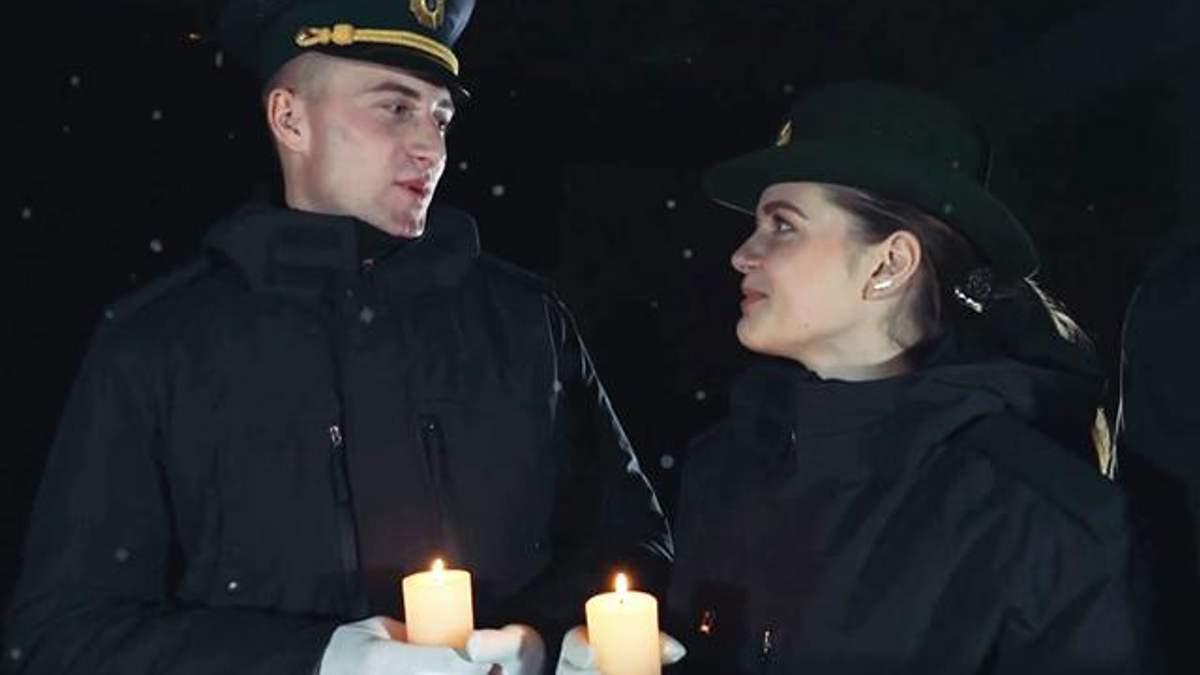Пограничники поздравили украинцев с Рождеством