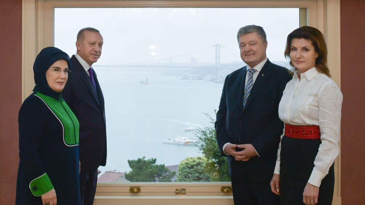Порошенко обсудил с Эрдоганом освобождение украинских политзаключенных