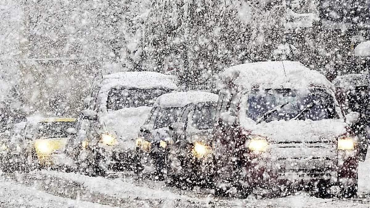 Снежный циклон покинул территорию Украины