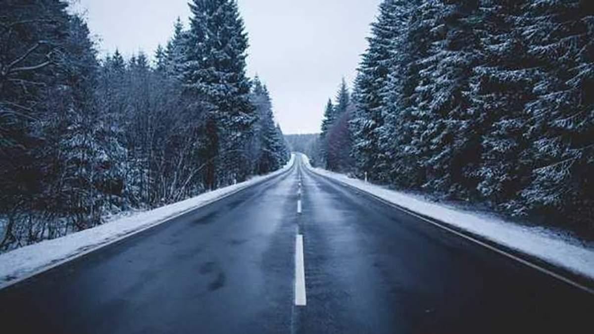 На одной из трасс западной Украины могут ограничить движение из-за погодных условий