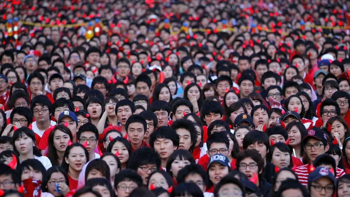 Населення Китаю у 2016 році складало понад 1,40 мільярда осіб