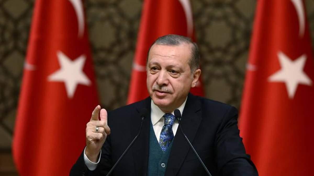 Ердоган різко відповів на вимогу США щодо війни у Сирії