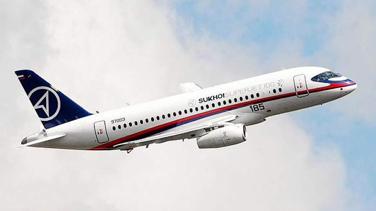 Літак Sukhoi