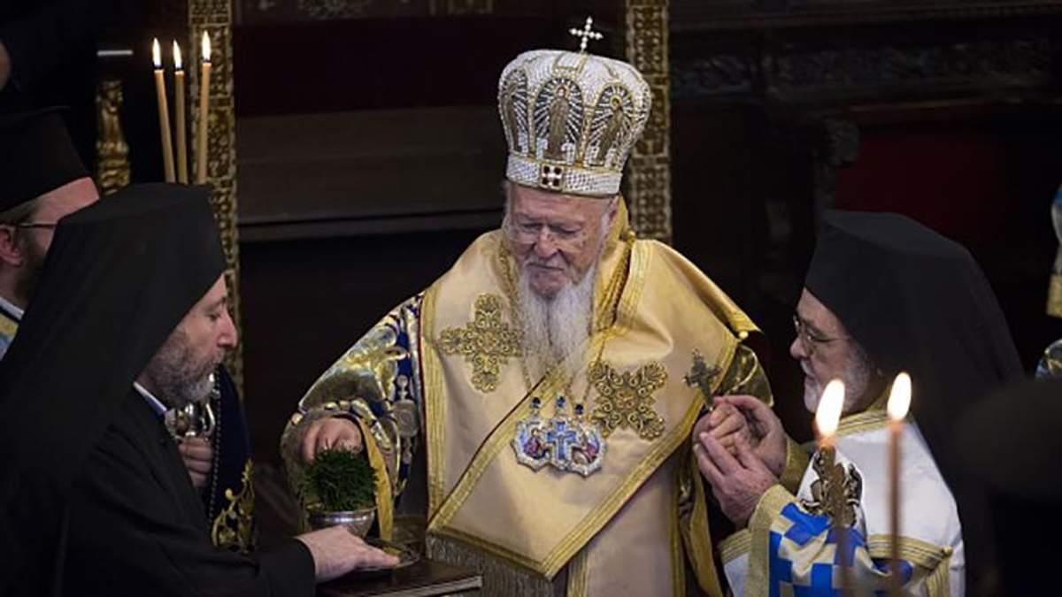 Вселенский патриарх Варфоломей поздравил украинцев с Рождеством