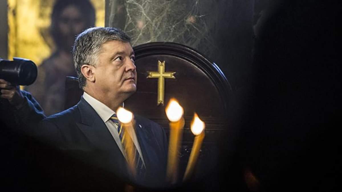 Порошенко с Фанара поздравил украинцев с Рождеством