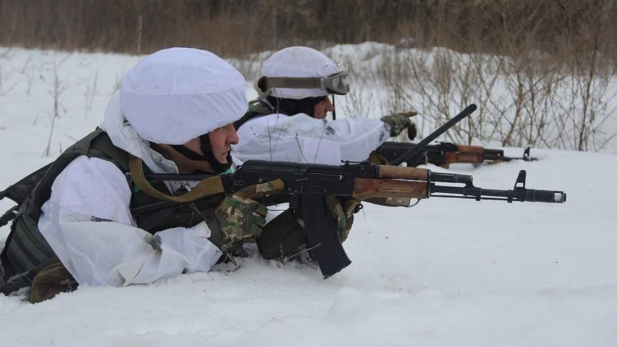 Украинские защитники нанесли потери оккупантам на Донбассе