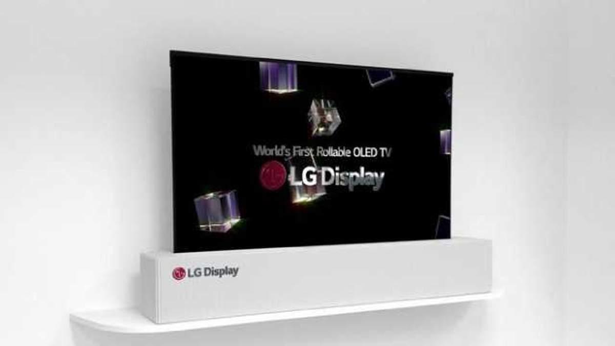 Уникальный телевизор LG OLED TV R