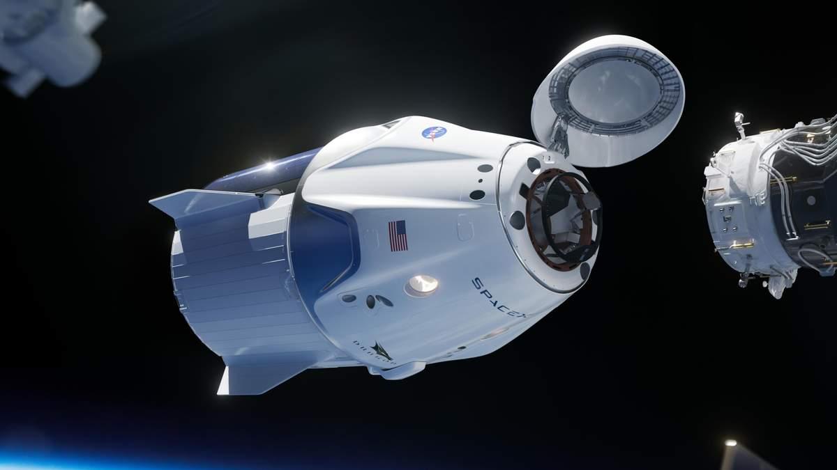 SpaceX  через місяць запустить корабель Crew Dragon і ракету Falcon 9