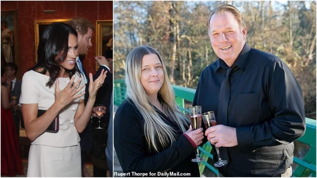 Меган Маркл и ее брат Томас с будущей женой
