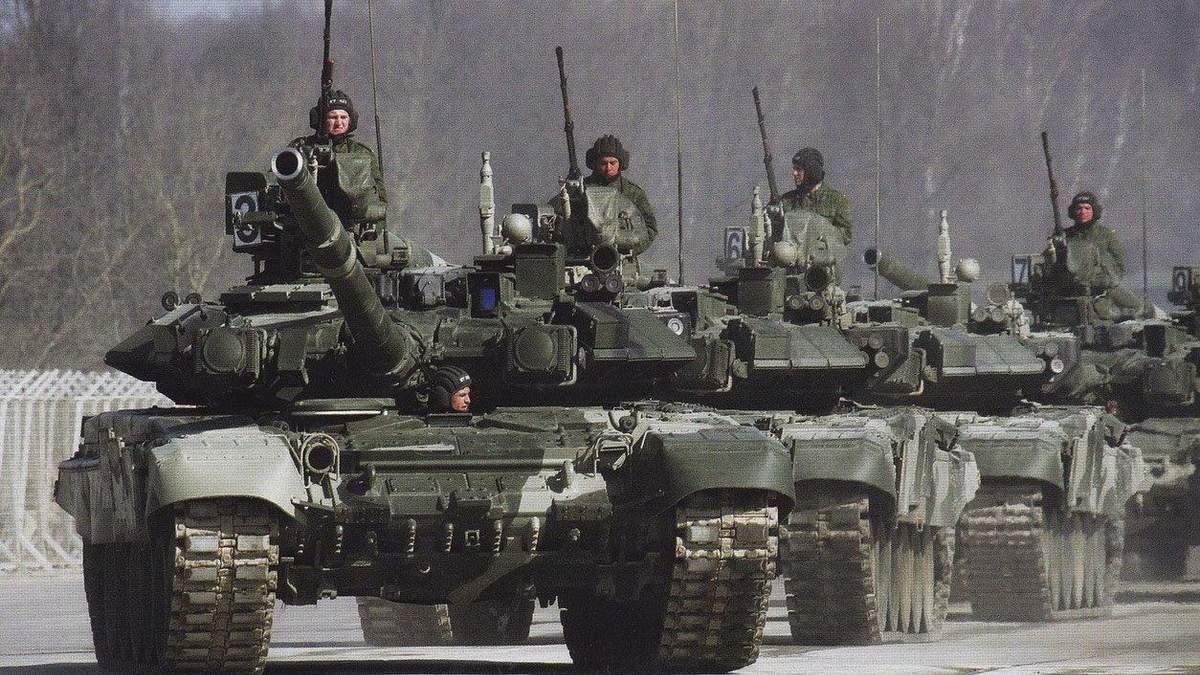 В окупованому Криму відбуваються масштабні військові навчання