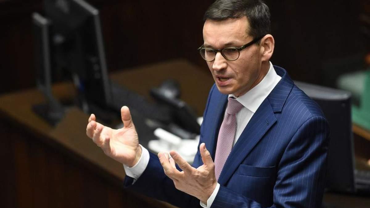 """""""Засуджуємо Росію"""": прем'єр Польщі озвучив наміри  Путіна щодо """"Північного потоку-2"""""""