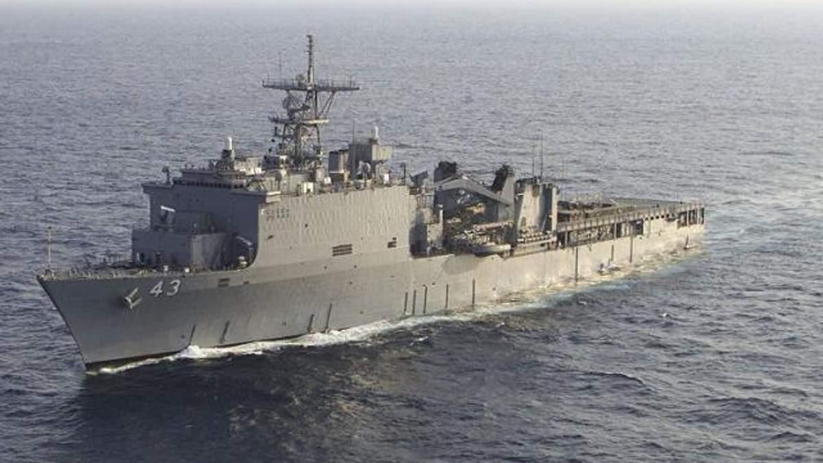 Американські військові розповіли, чому  корабель  США увійшов в Чорне море