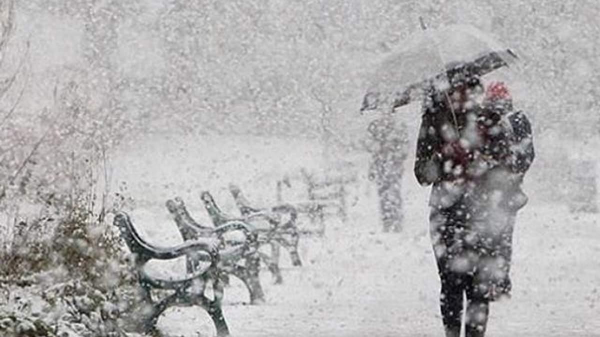 Украину накроют сильные снегопады и метели: перечень областей