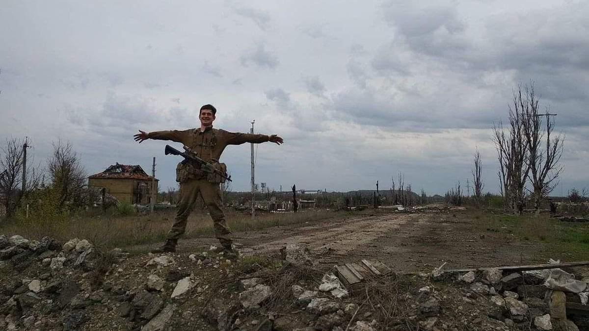 Максим Громов на Донбассе