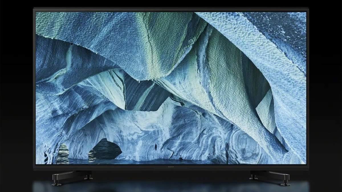 Sony представила 98-дюймові телевізори із роздільною здатністю 8К
