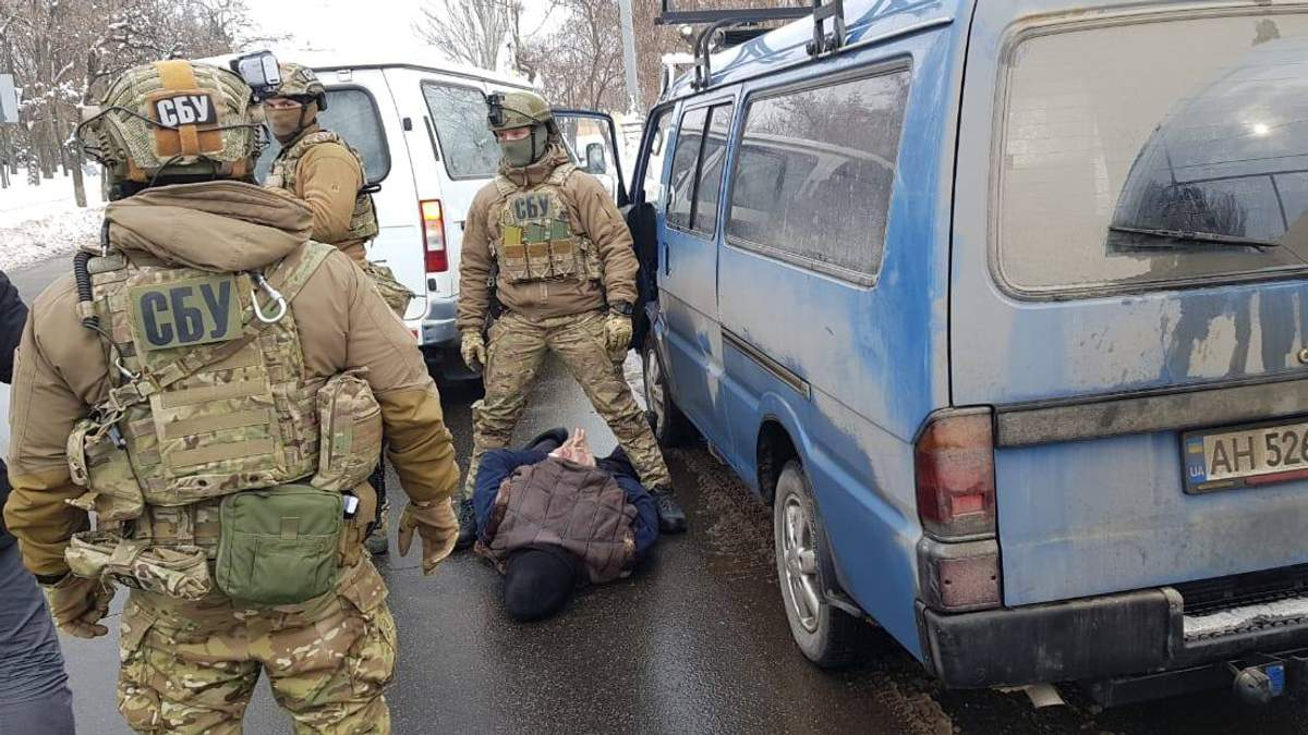 СБУ задержала мужчину, который готовил теракты по сговору с ФСБ