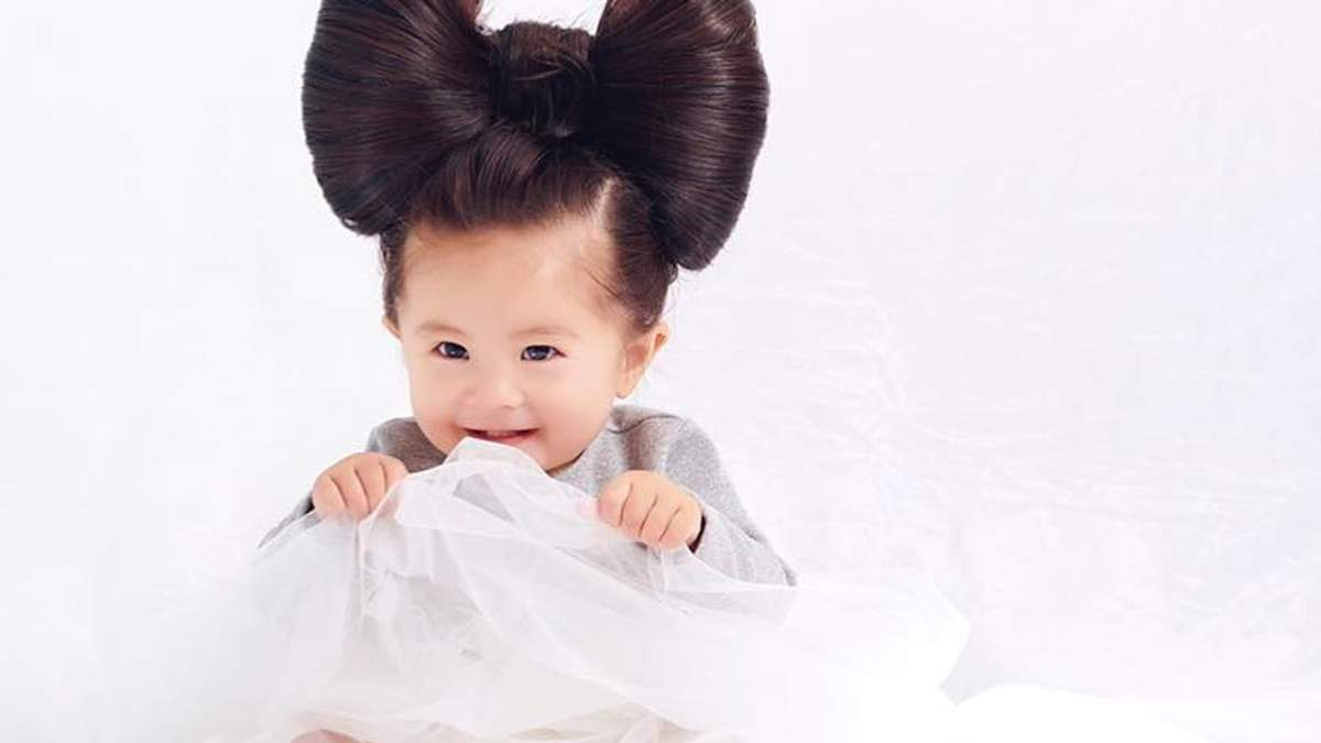 Baby Chanco для рекламы Pantene