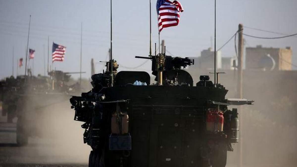США почали виводити військову техніку з Сирії