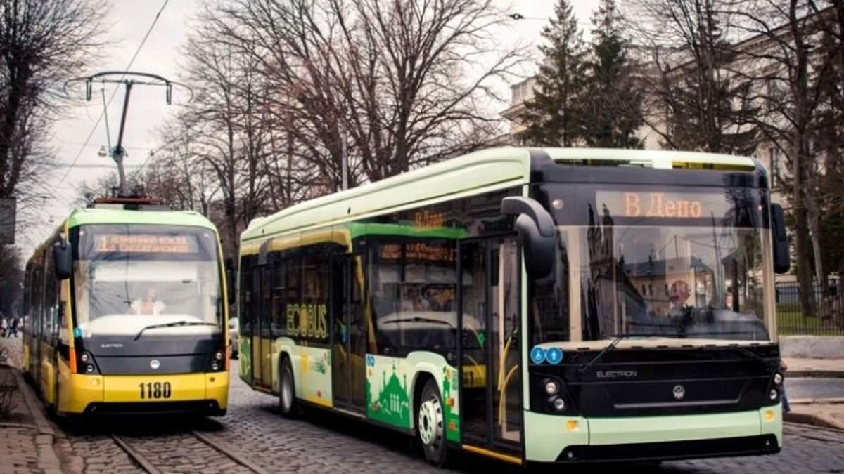 Общественный транспорт в Харькове