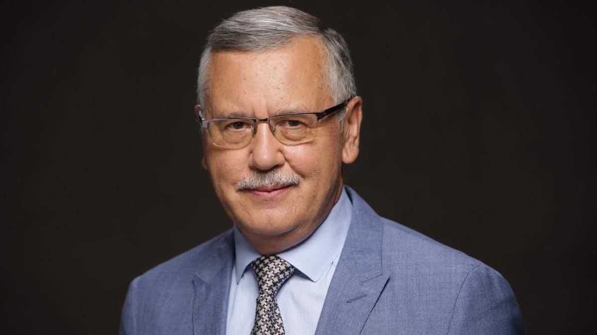 """Анатолій Гриценко став кандидатом у президенти від """"Громадянської позиції"""""""