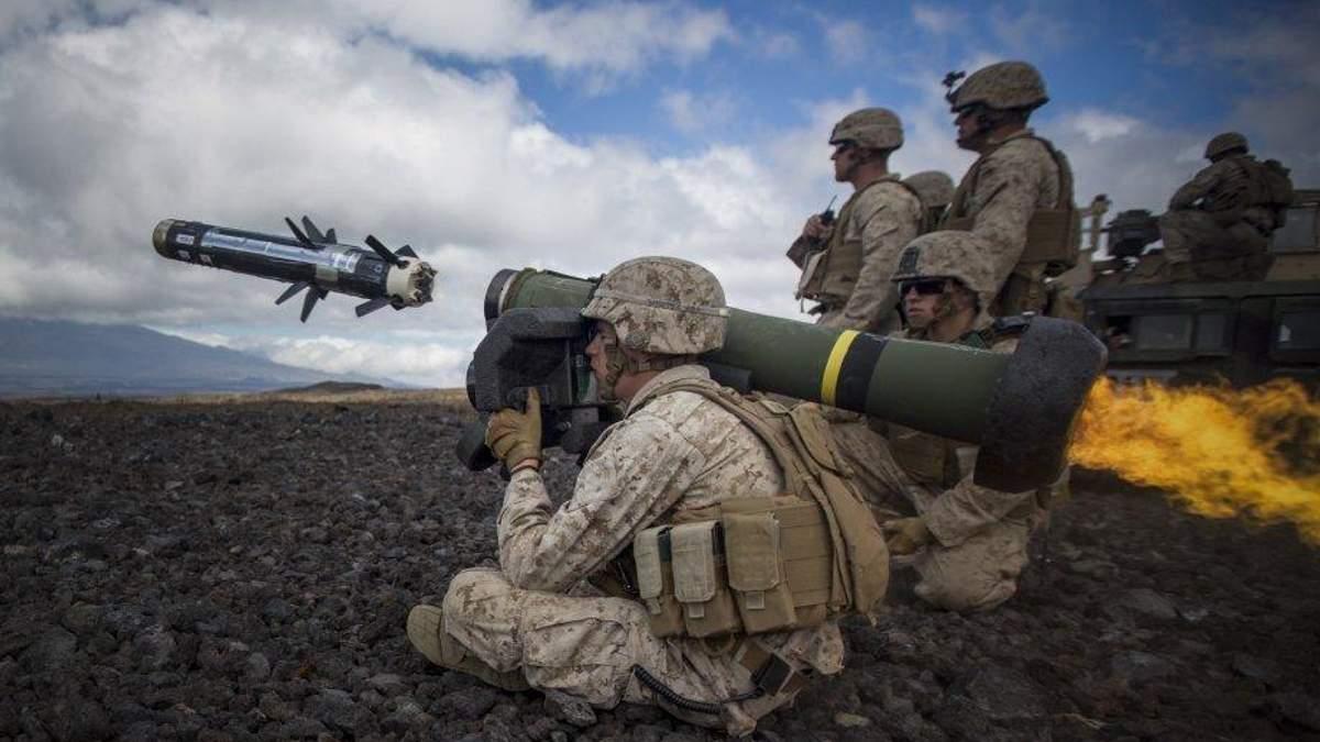 Летальна зброя призупинила агресію Росії на Донбасі