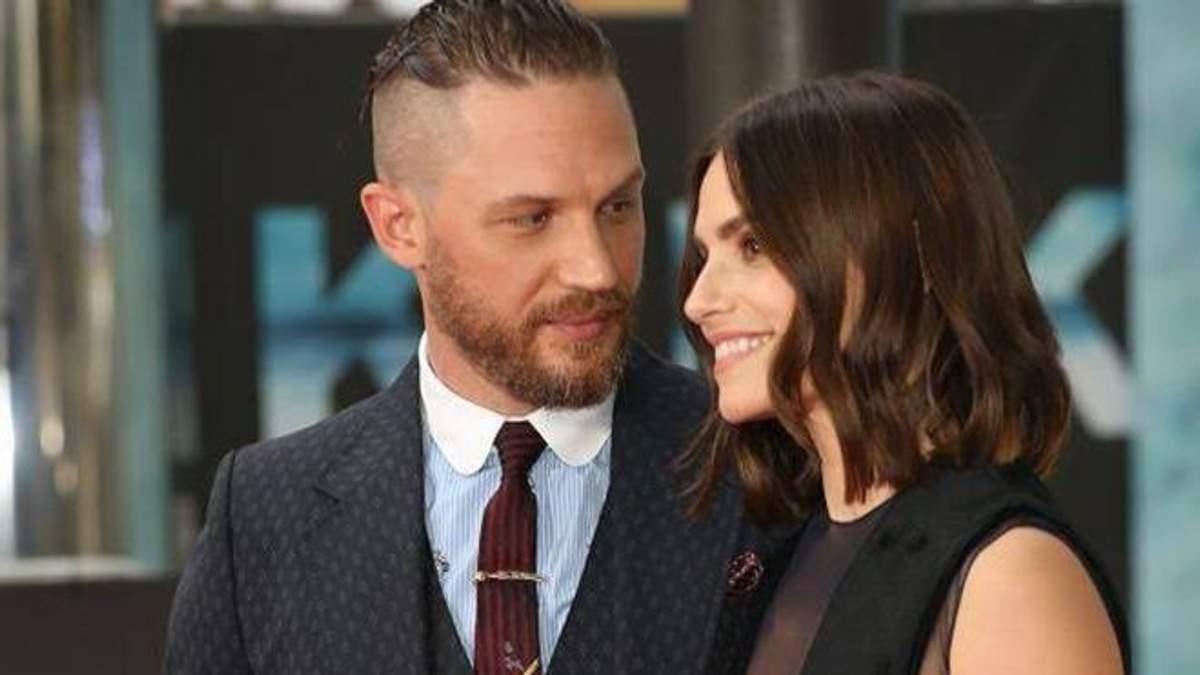 Том Харді і Шарлотта Райлі стали батьками вдруге