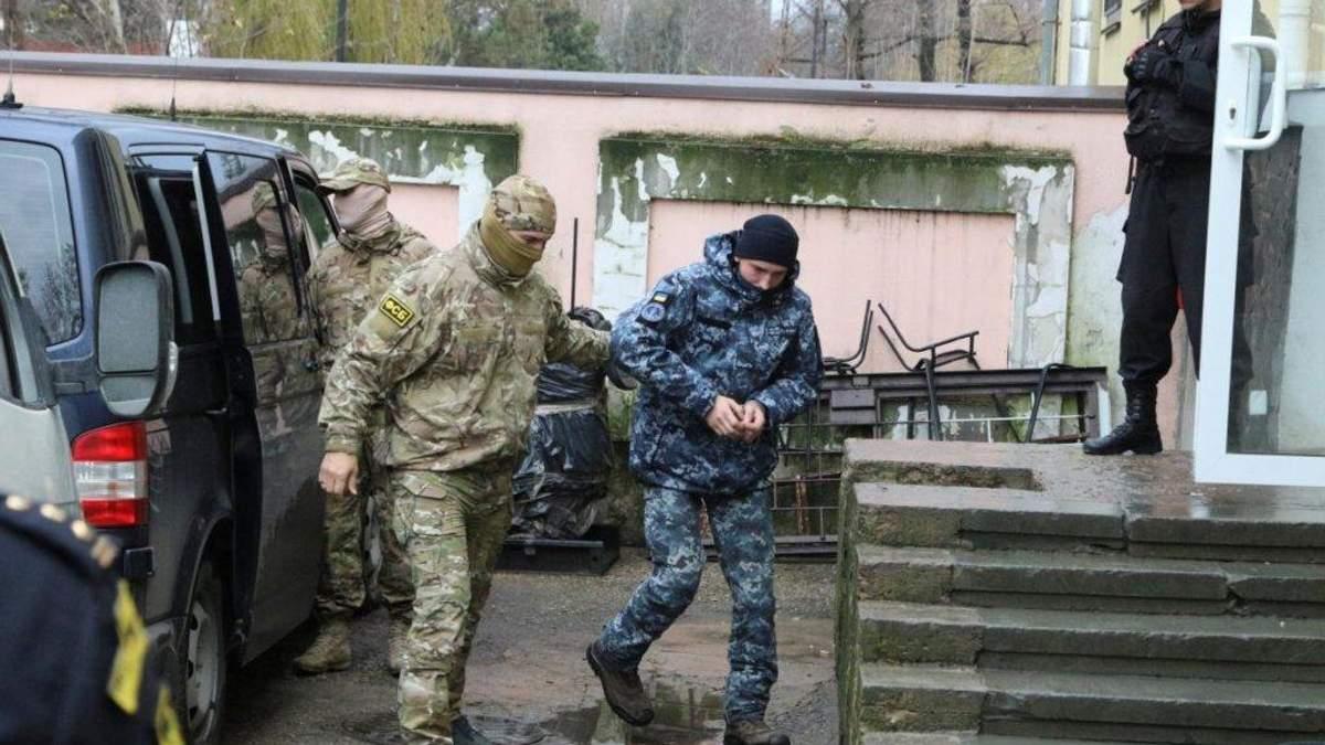 В России продлили срок следствия по делу пленных украинских моряков: известна новая дата