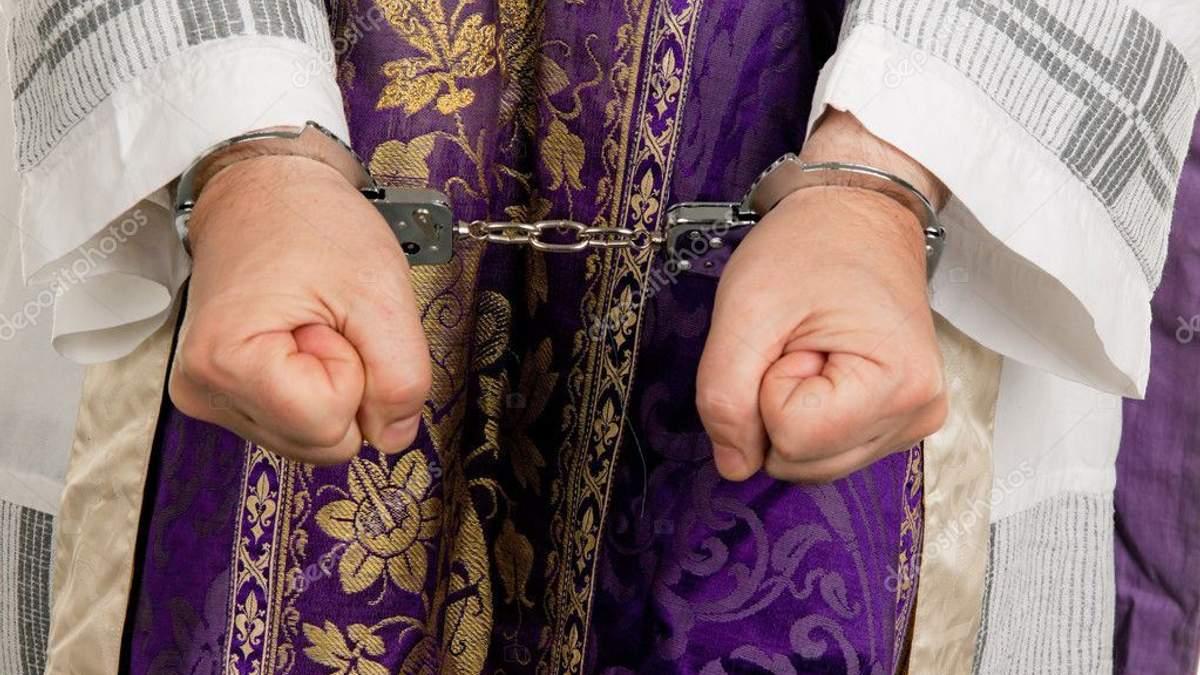 На Львовщине у российского священника нашли оружие