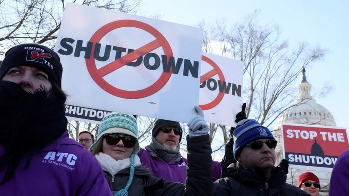 Шатдаун у США триває