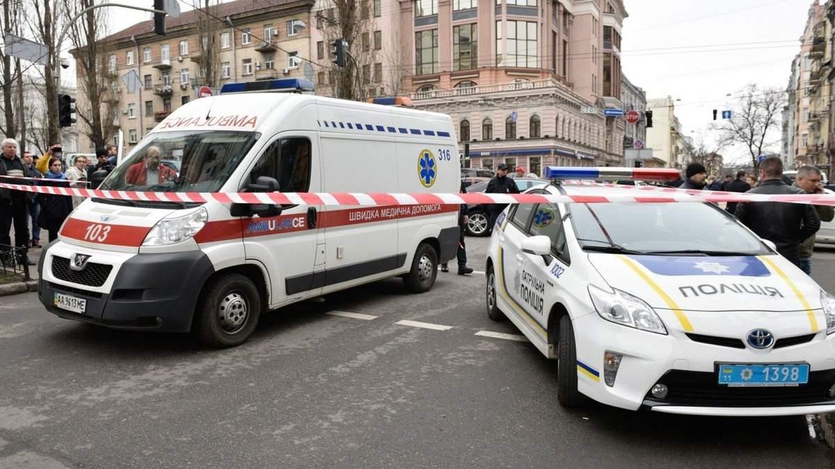 В торговом центре Киева произошел взрыв: фото с места происшествия