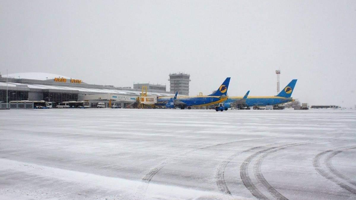 """В """"Борисполе"""" вынужденно сел самолет"""