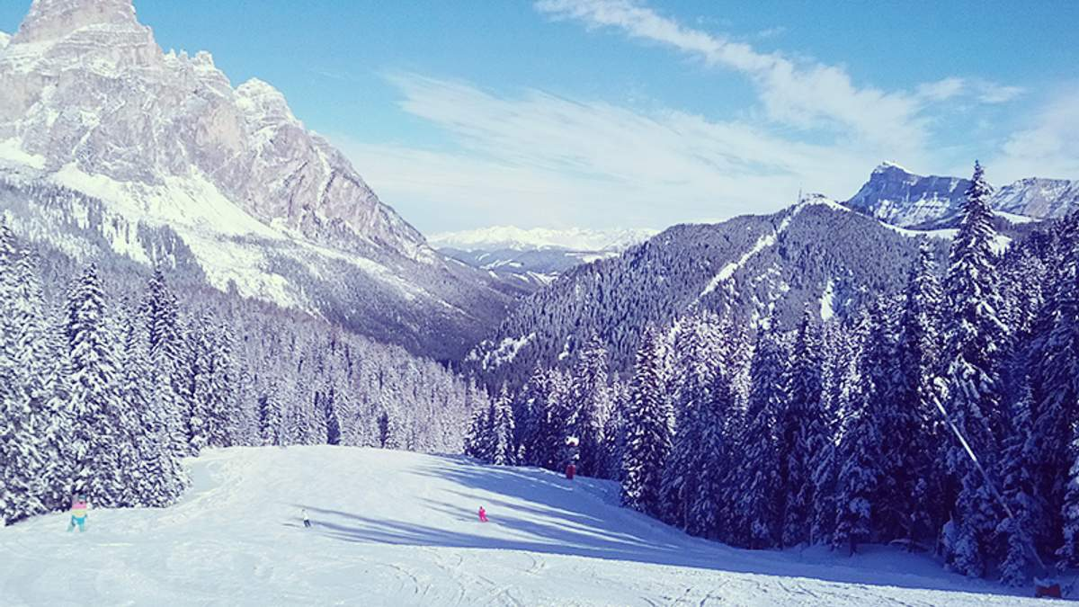 В Альпах есть большая вероятность схода лавин