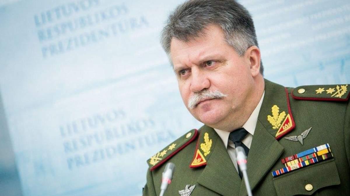 """""""Худший сценарий"""": командующий армии Литвы назвал масштабные последствия агрессии РФ"""
