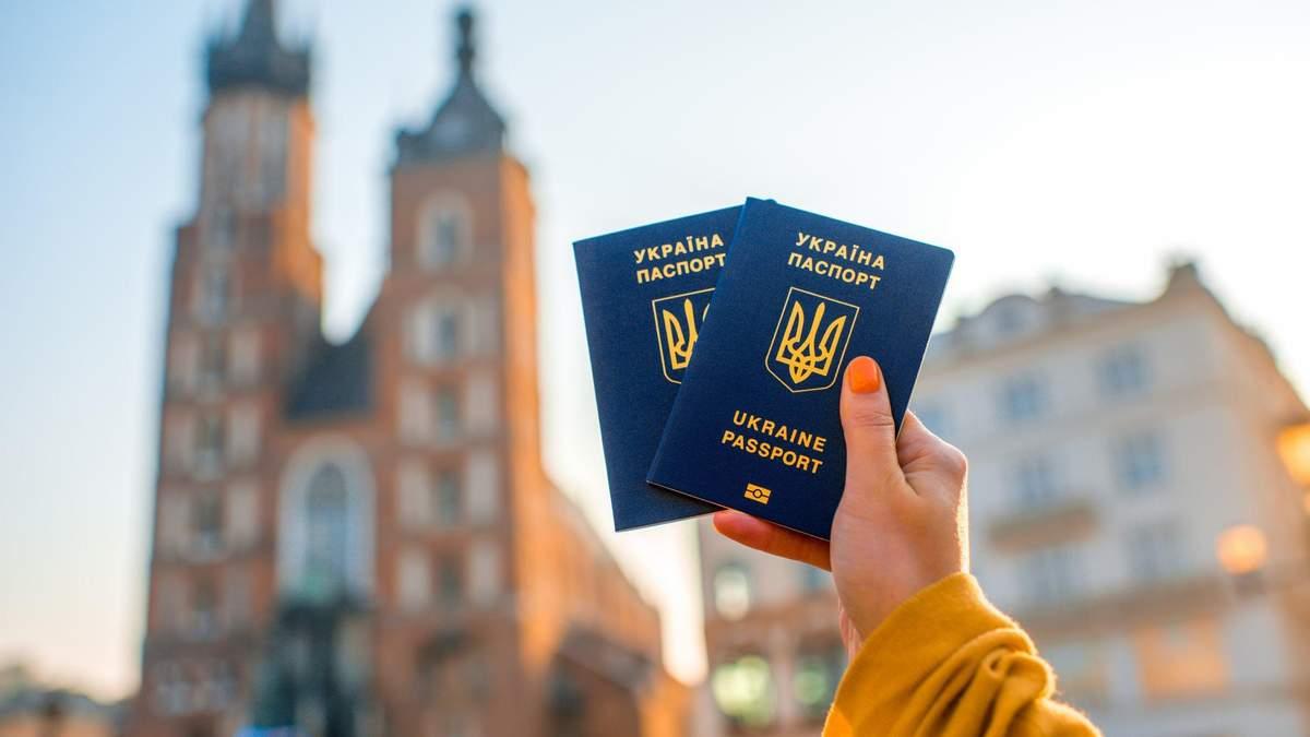 Скиль виз выдала Польша украинским гражданам в 2018
