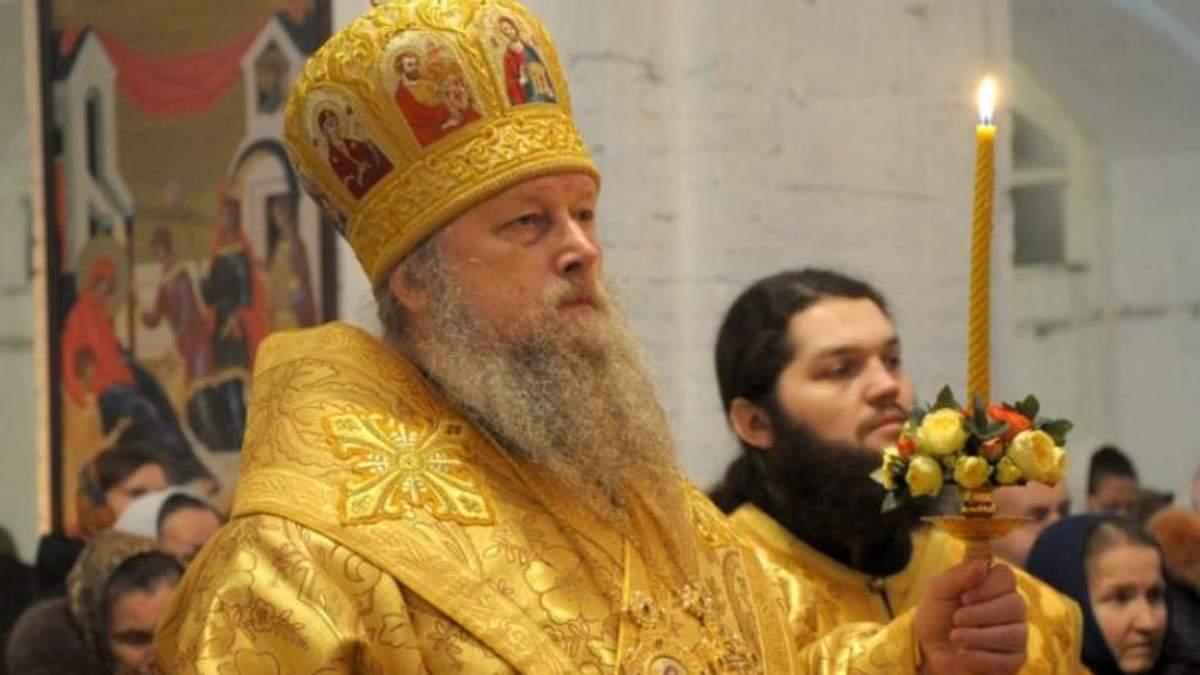 Епископа Нафанаила с УПЦ МП не пустили в храм
