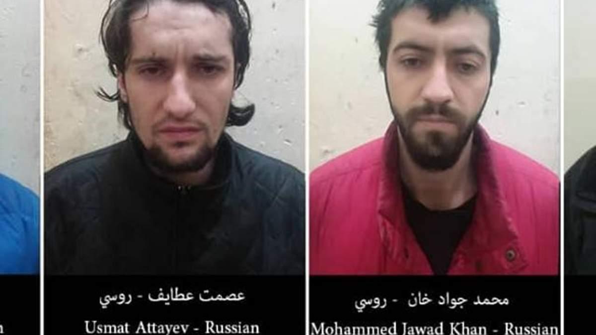 """Задержанные в Сирии российские боевики """"Исламского государства"""""""