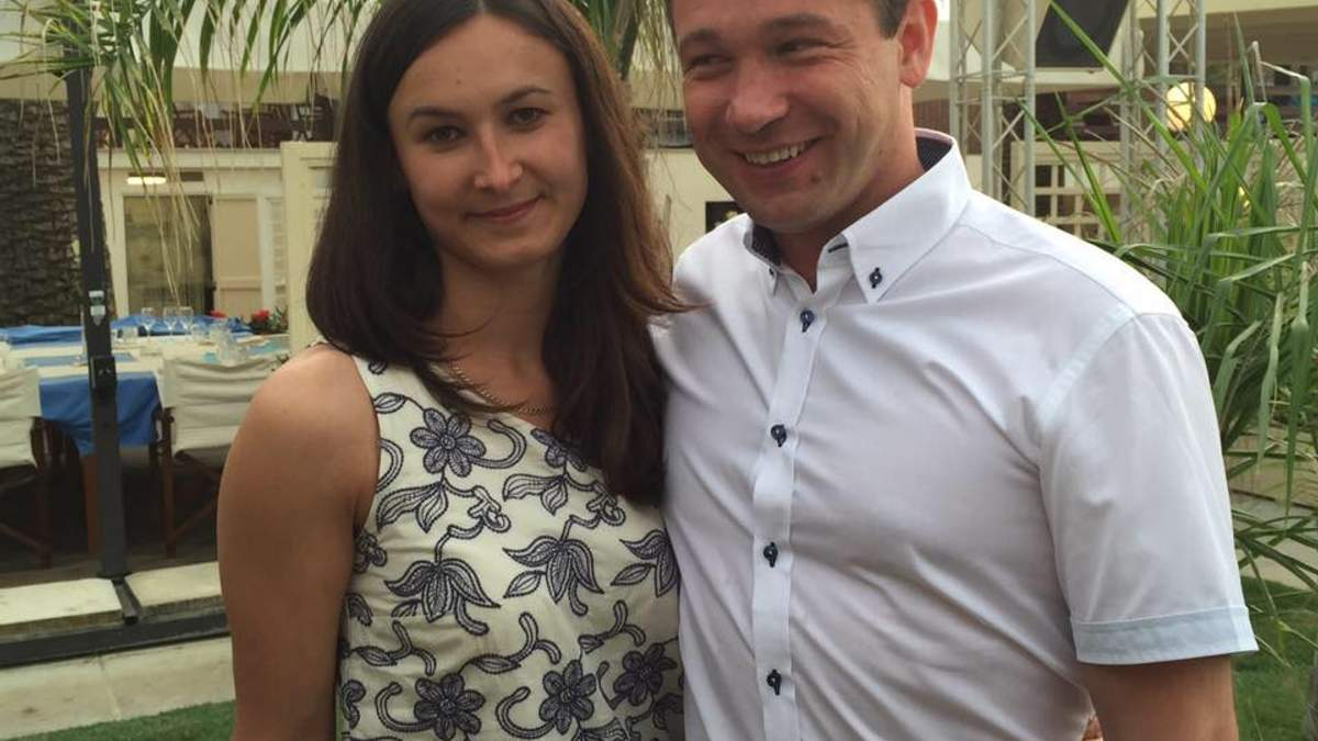 Роман Кисиль с женой Марией