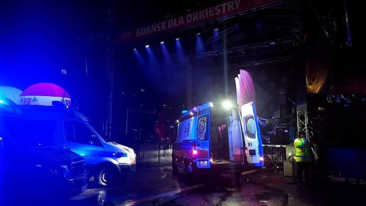 В Польше напали с ножом на мэра Гданьска