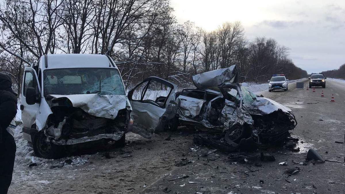 На Харківщині у ДТП загинуло чотири особи
