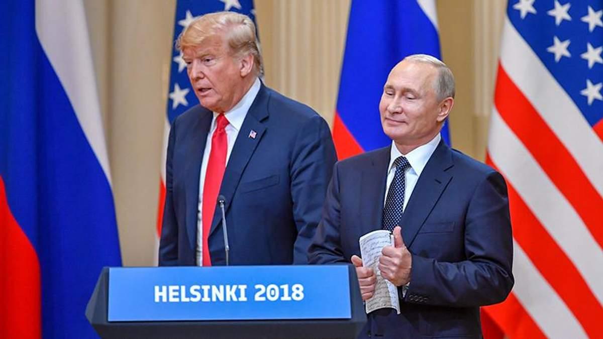 Трамп і Путін зустрічаються без свідків, і ніхто не знає, про що вони розмовляють, – Яковина