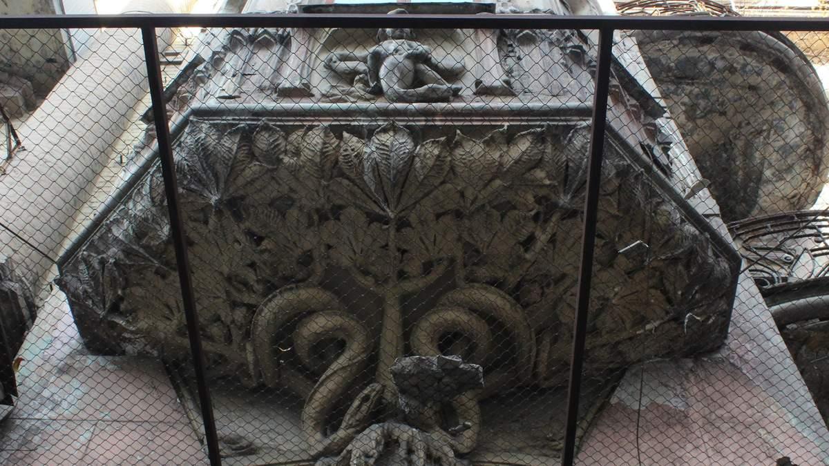 Як у Києві відреставрують Будинок зі зміями: візуалізація проекту
