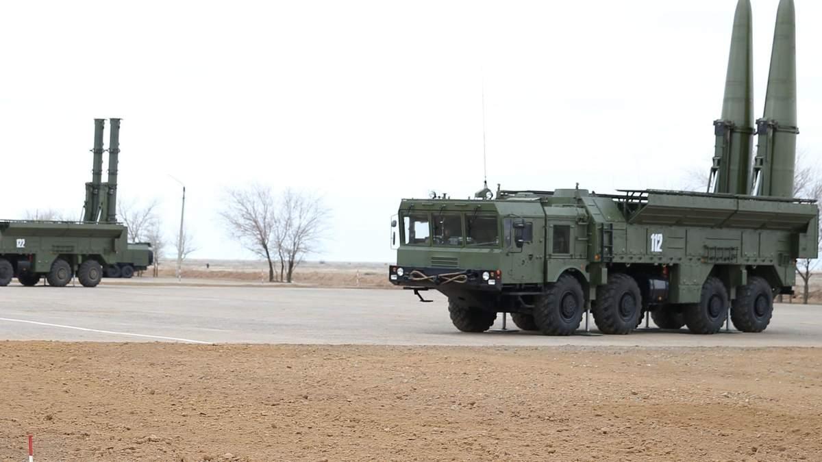 """Біля кордону з Україно, у Краснодарі, Росія розгорнула ракети й пускові установки """"Іскандер"""""""